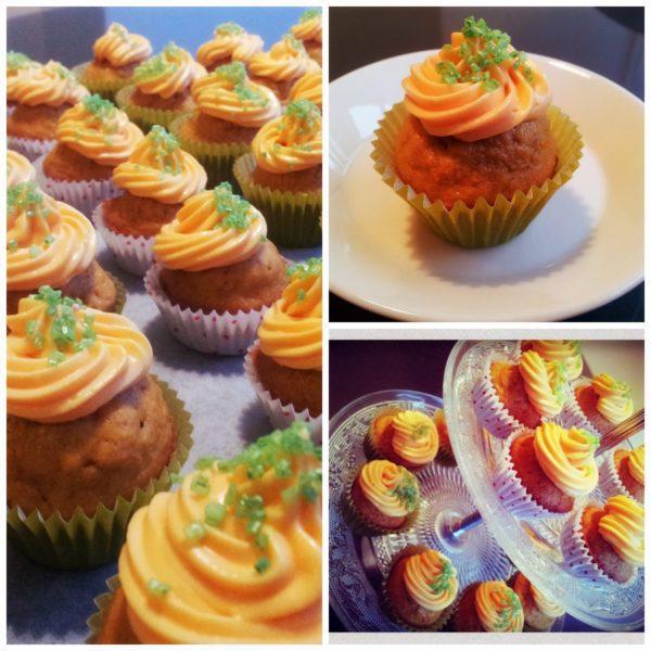 Porkkana Cupcakes