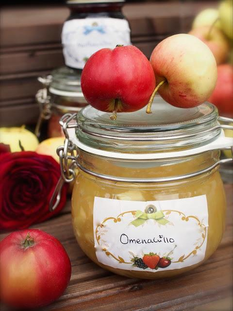 Kotitekoinen Omenahillo