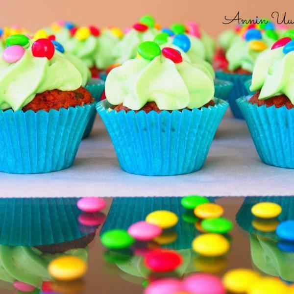 Smarties Cupcakes - M&M Kuppikakut