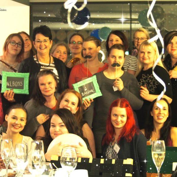 Ensimmäinen Leivontabloggaaja -ilta LBI2015