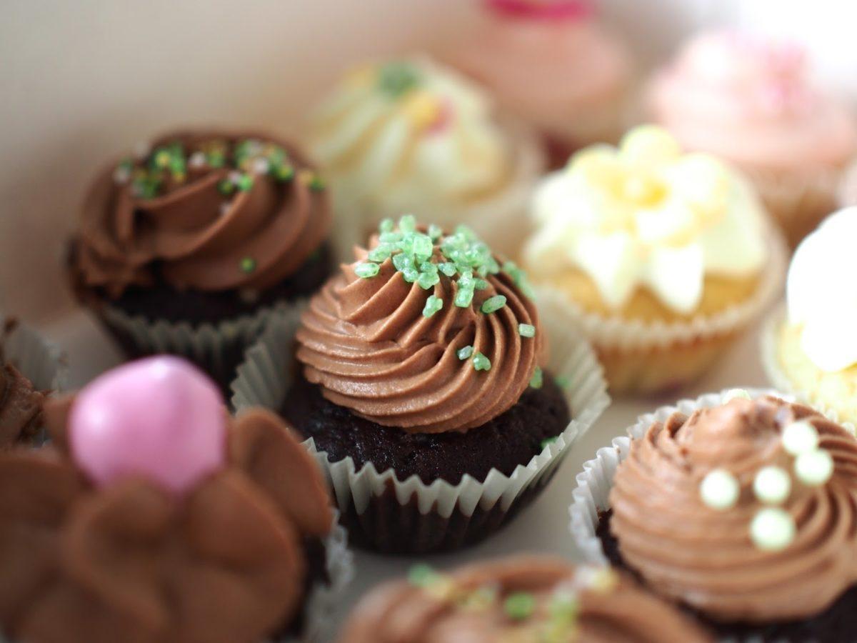 Minttusuklaa Cupcakes
