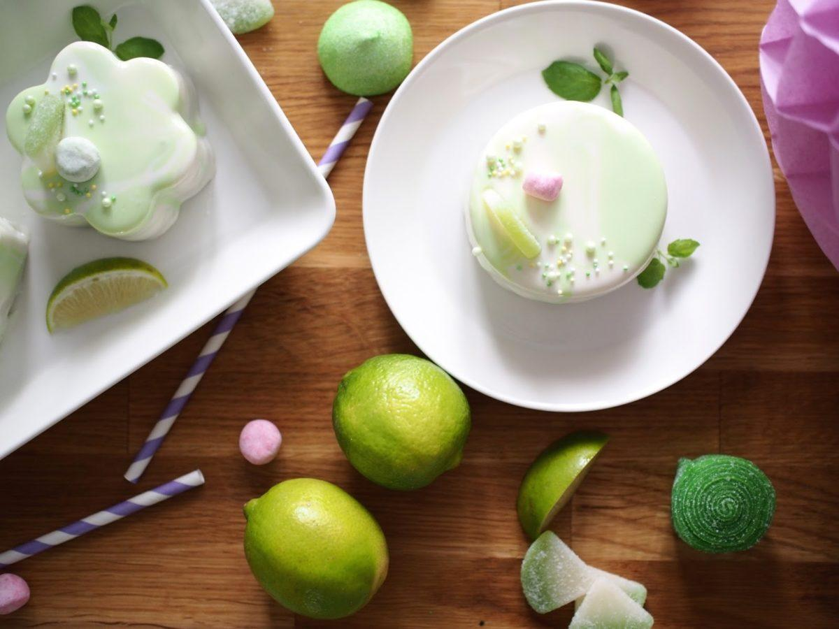 Mirror Glaze Key Lime -leivokset