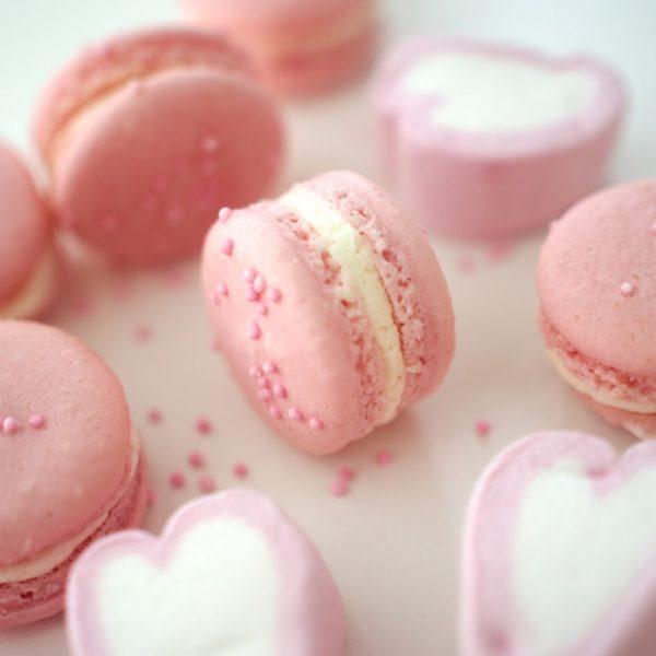 Vaahtokarkki Macarons