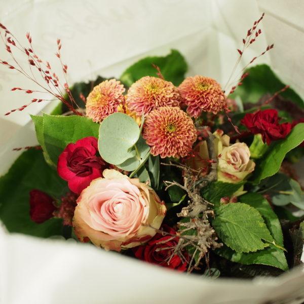 Syksyinen Kukkasidontakurssi