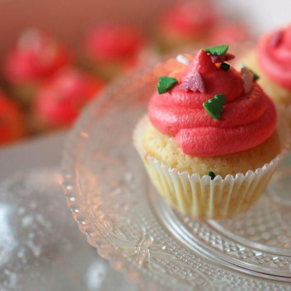 Vanilja-Appelsiini Cupcakes