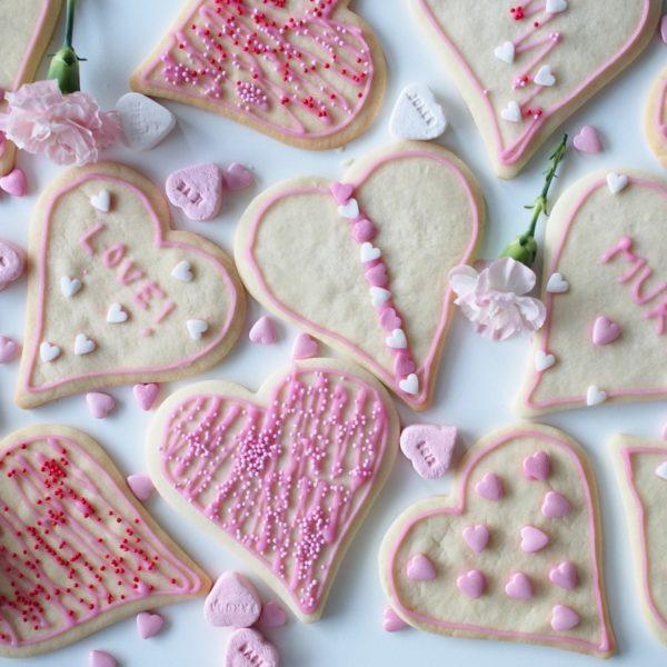 Sydän-Keksit Rakkaalle ja Ystävälle