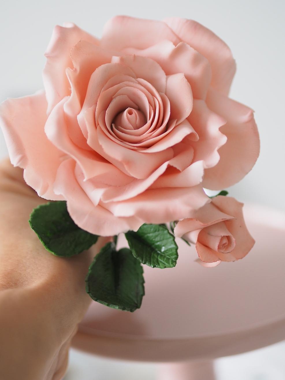 Langoitettu Ruusu ja asiaa kukkamassasta