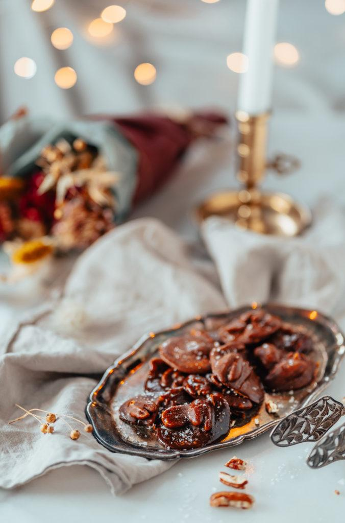Rouskuvat Pähkinä-caramelkeksit (G)
