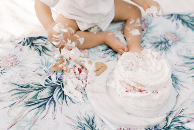 Smash Cake - Kakku 1-vuotiaalle