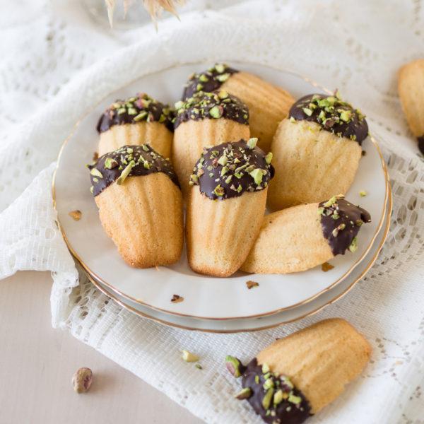 Suklaiset Madeleine-leivokset