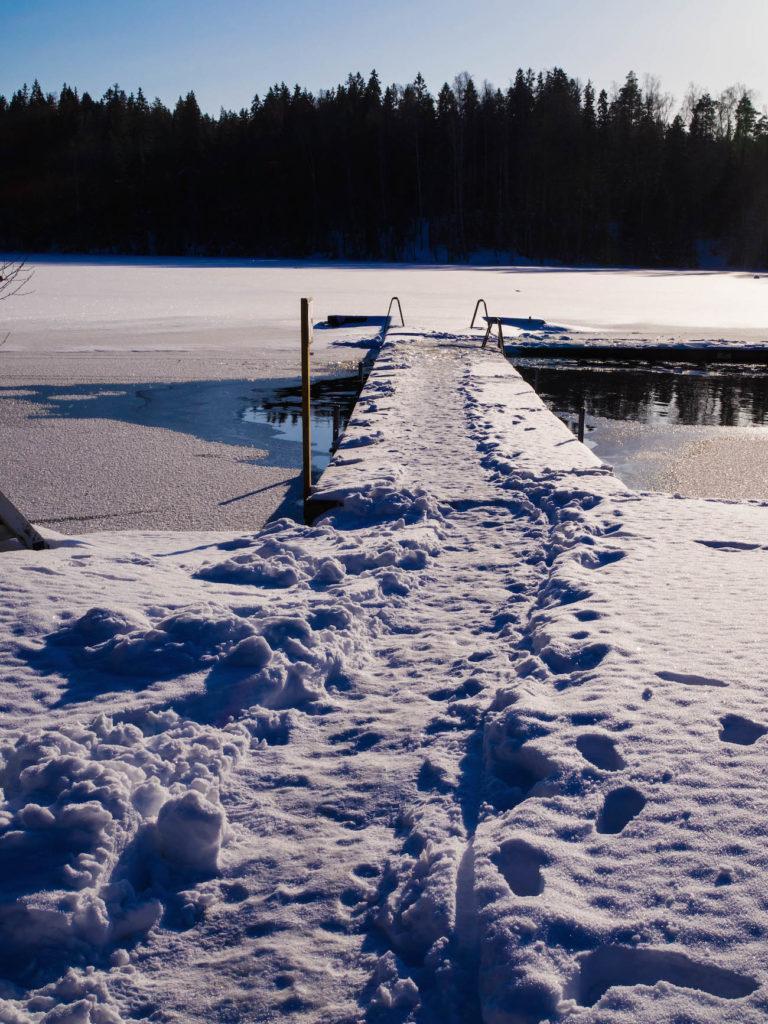 Talvisia elämyksiä mielelle ja keholle - Kuusijärvi