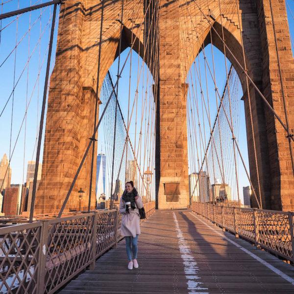 Brooklyn Bridge NYC – Täydellisen päivän aloitus