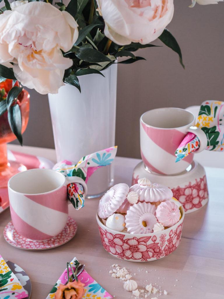 Sokeriton suklaavanukas ja kattausvinkkejä kevääseen