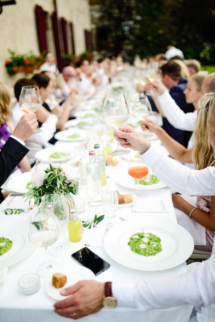 Häät Italiassa - Viiden ruokalajin hääillallinen