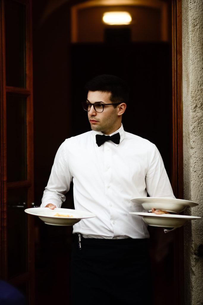 Italiassa - Viiden ruokalajin hääillallinen