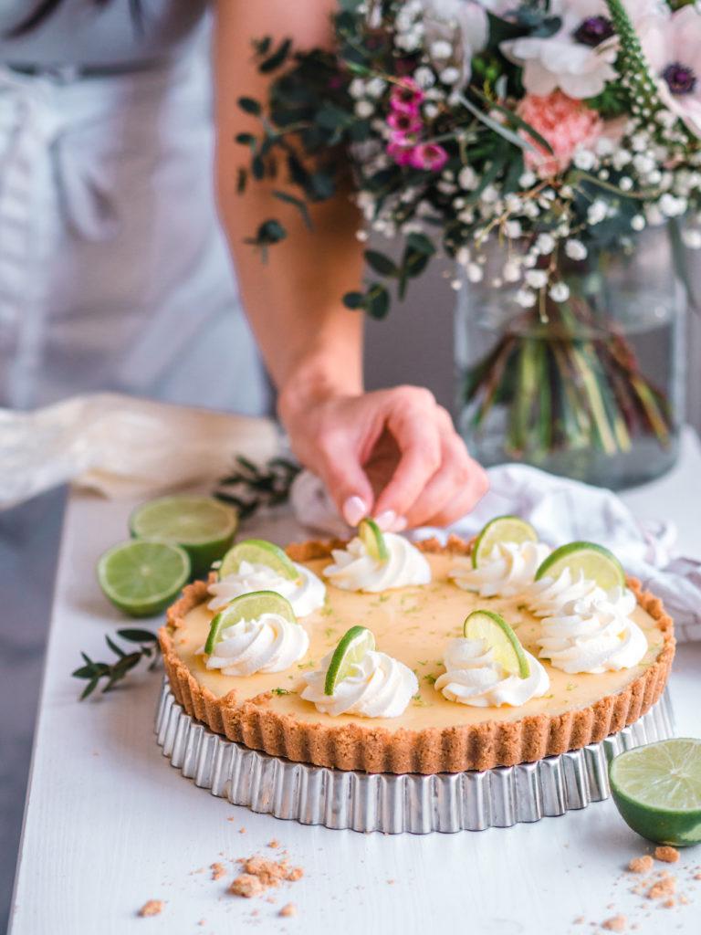 Key Lime Pie - Helppo Limepiiras (G)