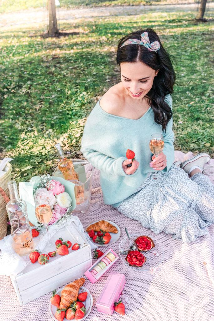 Piknik Kirsikkapuistossa