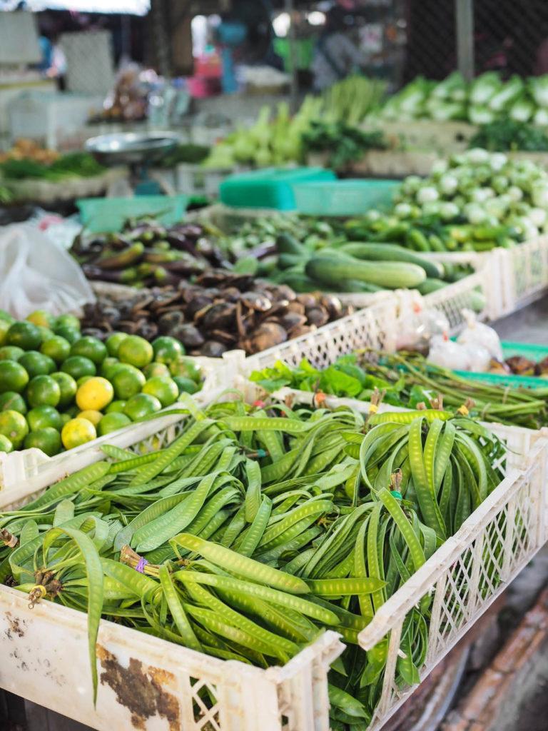 Krabi Town - Herkkuja ja hedelmiä!