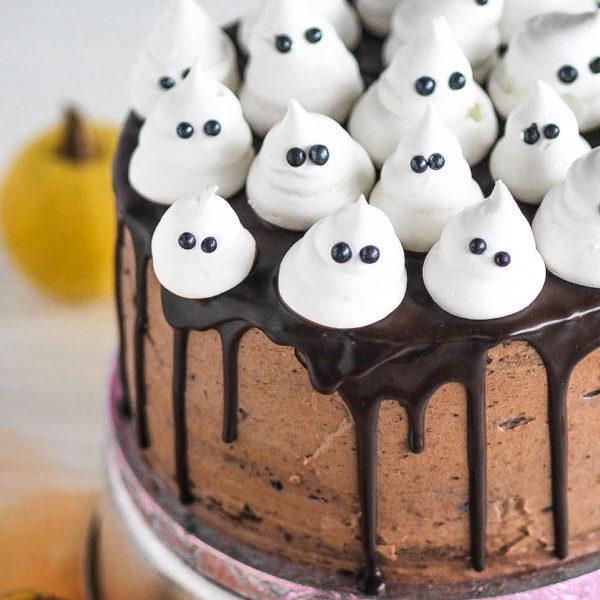Kummituskakku - Suklaakakku (gluteeniton)