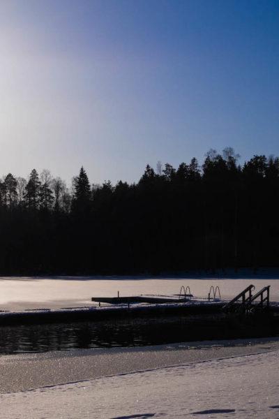 Talvisia elämyksiä mielelle ja keholle – Kuusijärvi