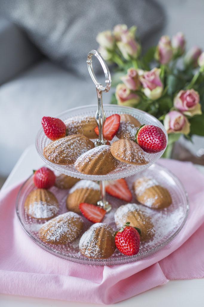 Madeleine-leivokset Ystävälle