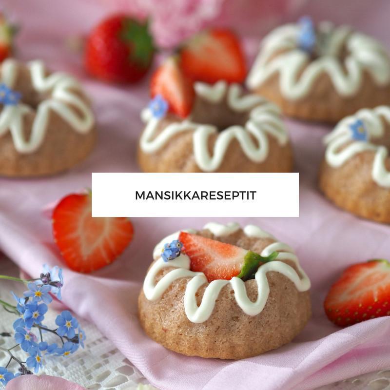 Annin Uunissa - Mansikkareseptit
