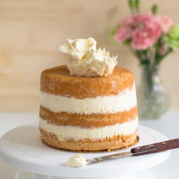 Ananasmousse (korkean kakun täytteeksi)