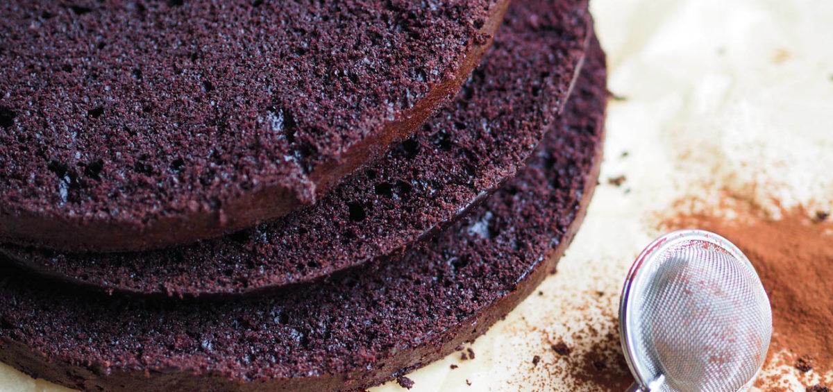 Helppo Mehevä Suklaakakku