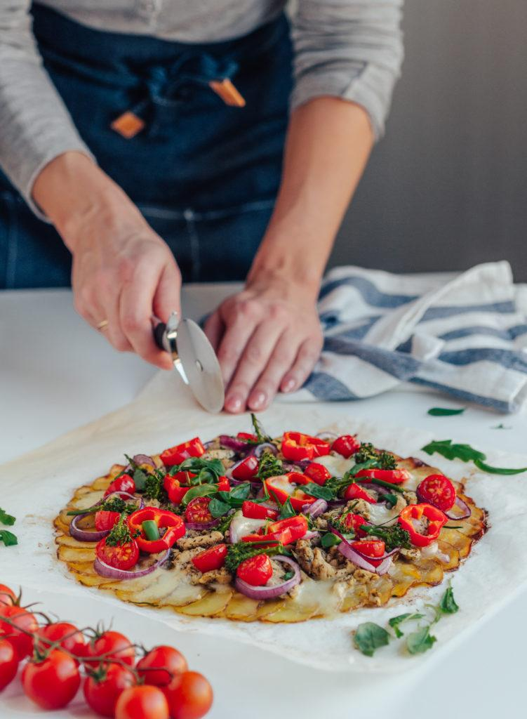 Arkiruokavinkki: Perunapizza