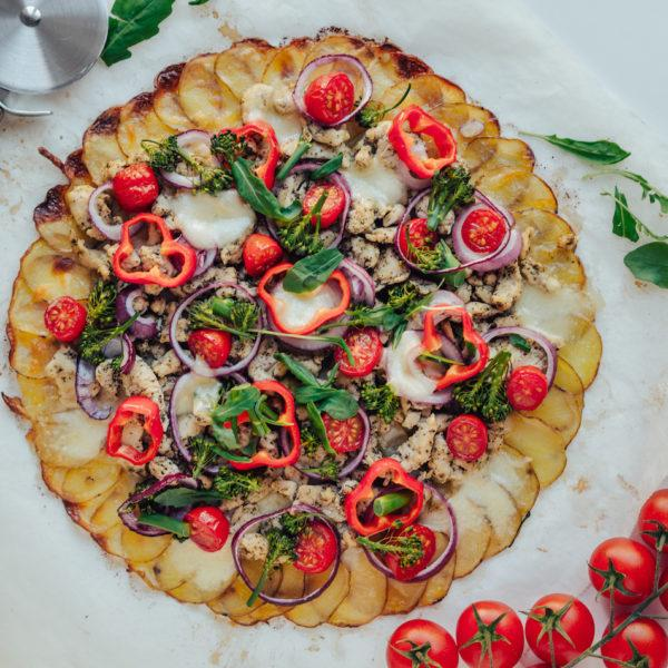 Arkiruokavinkki: Perunapizza (G)