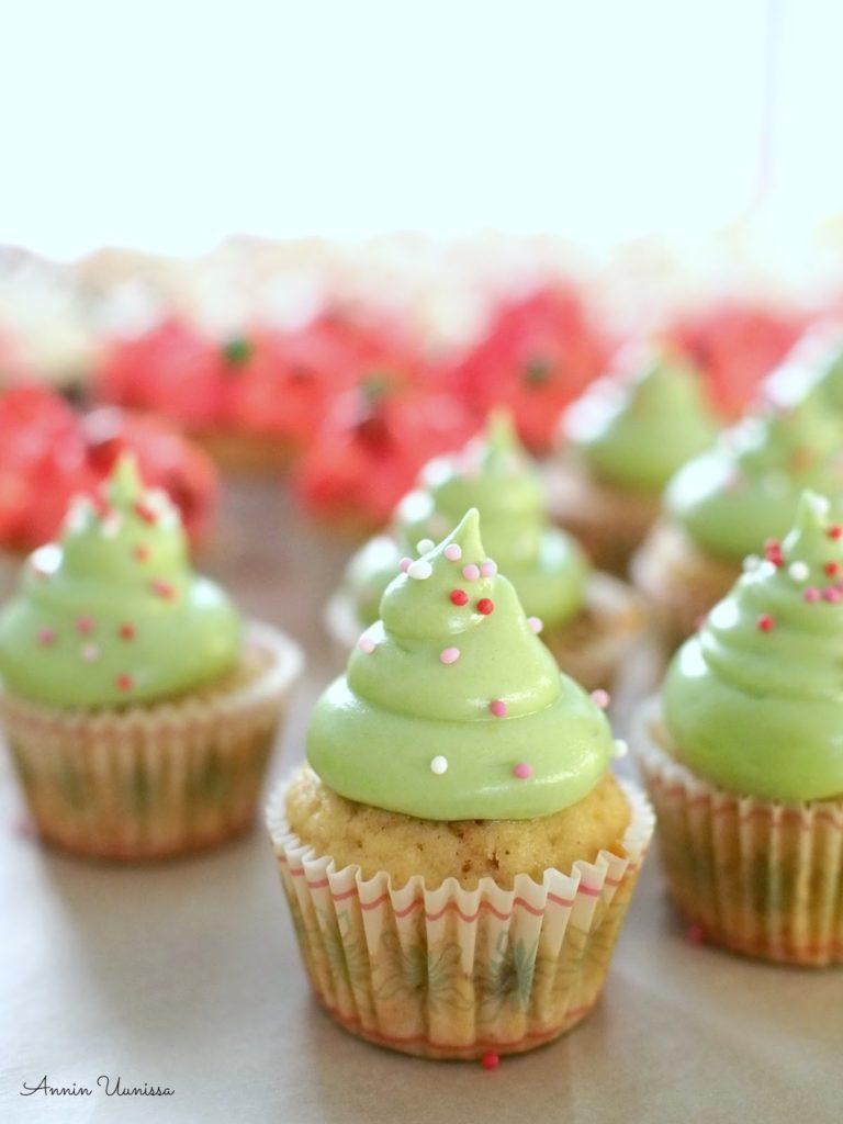 Piparkakku Cupcakes