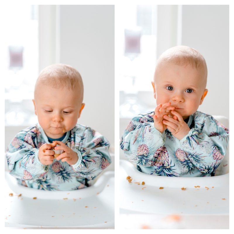 Vauvan Porkkanamuffinssit (ei lisättyä sokeria)