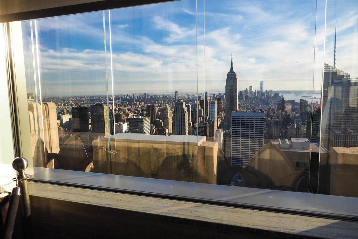Rainbow Room NYC - Herkuttelua näköalalla
