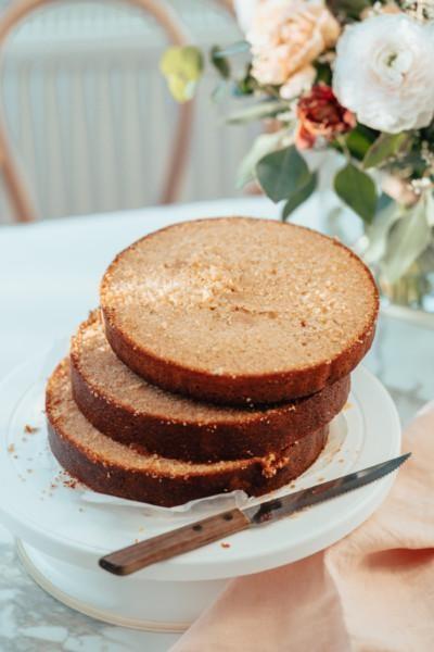 Salted Caramel Kakkupohja