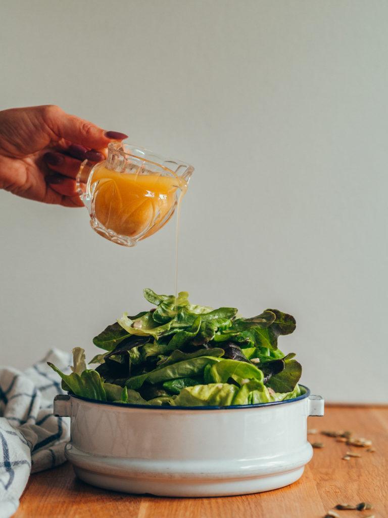 Sinappivinegretti - Maailman paras salaatinkastike