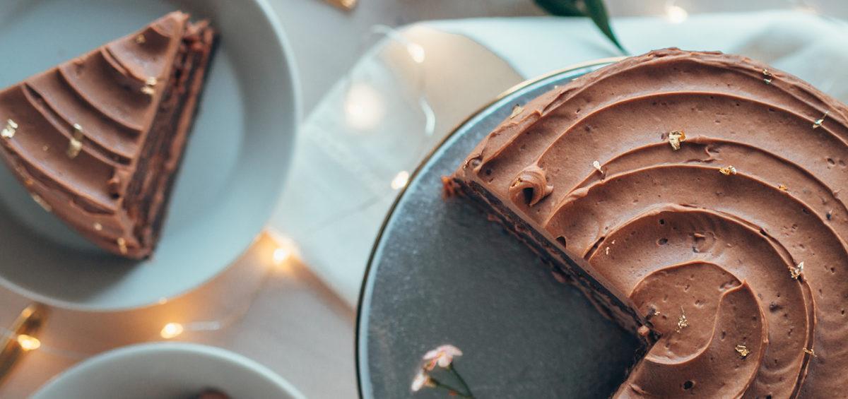 Joulun Paras Suklaa-Taatelikakku