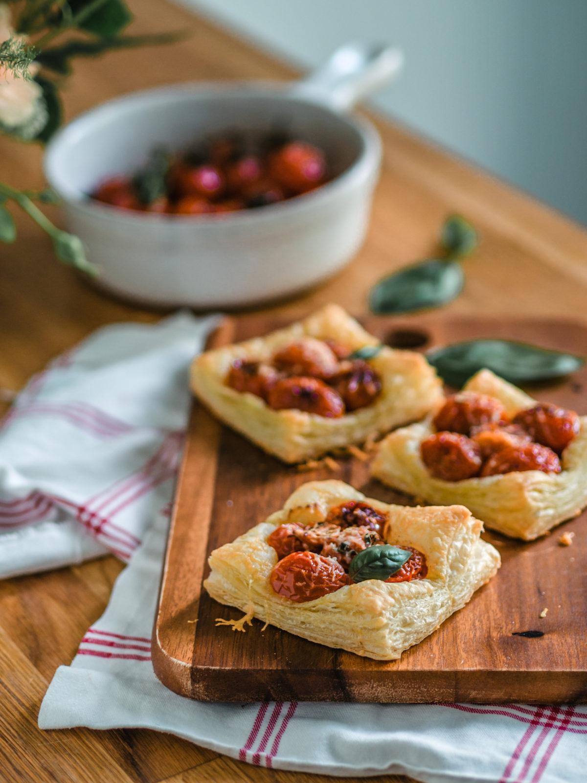Helpot ja nopeat Tomaattipiiraat