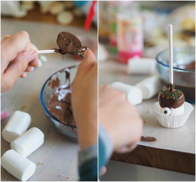 Vaahtokarkki Pops - Marshmallow Pops