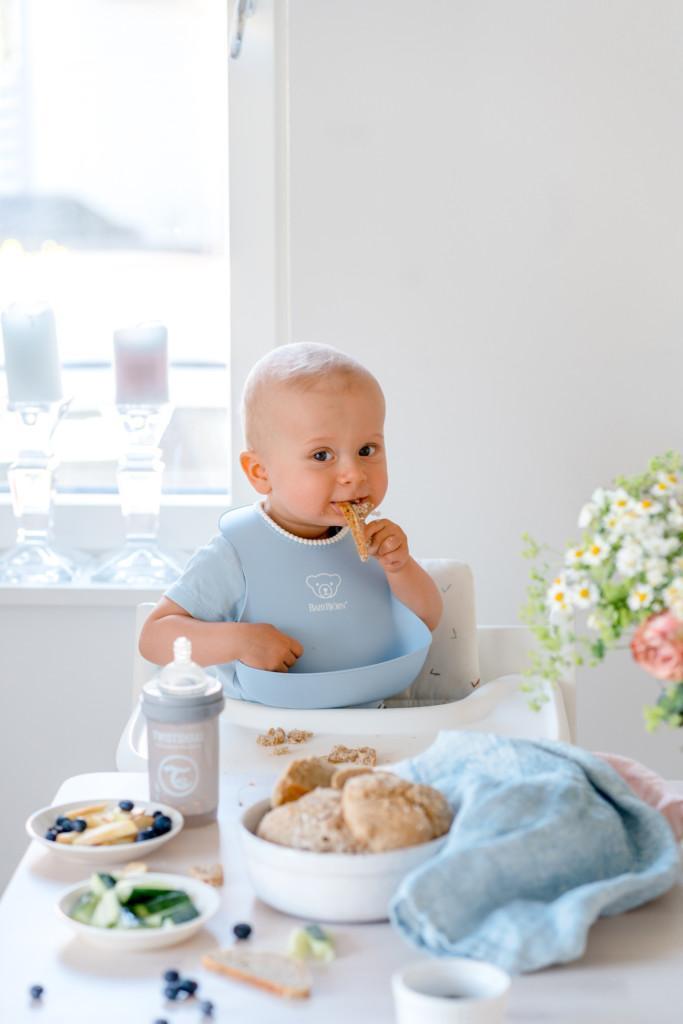 Vauvan Jääkaappisämpylät (6 kk+)