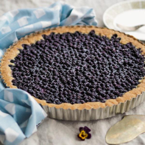 Vegaaninen Mustikkapiirakka - Leivonta - Ohjeet